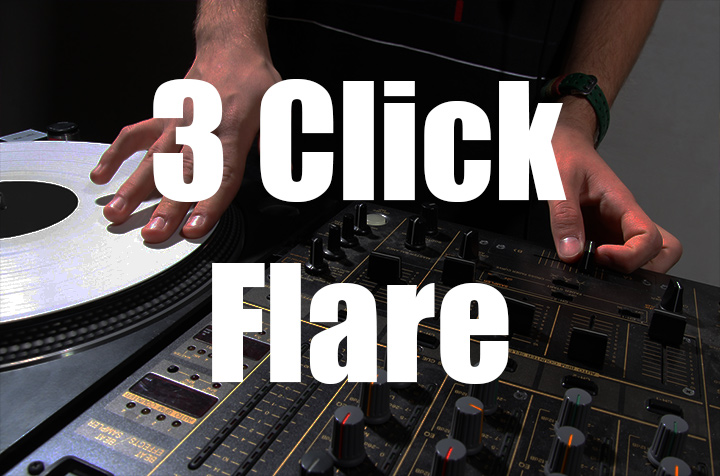 Three click flare orbit