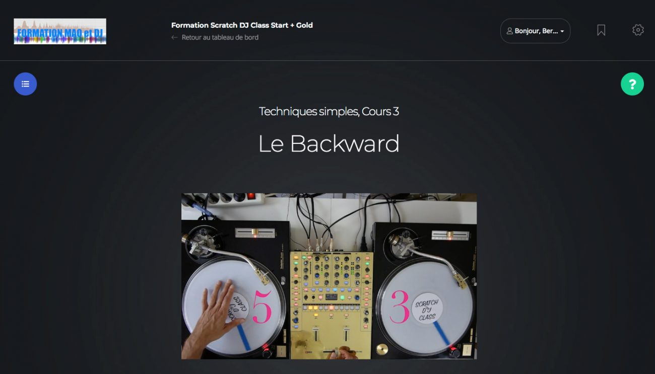 Backward Scratch