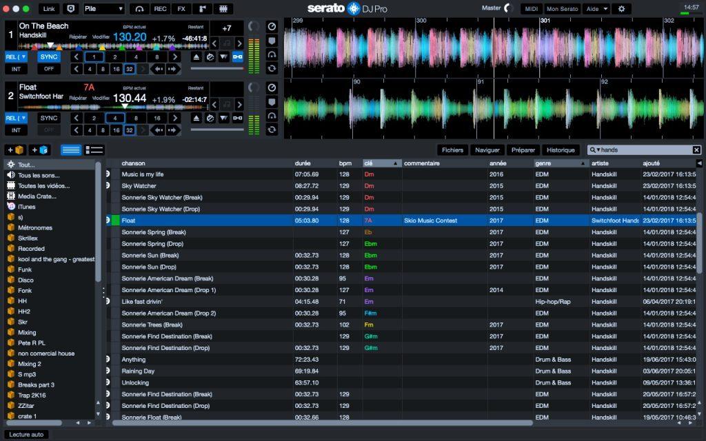 Formation Serato DJ Pro - Mixer avec toutes les fonctions