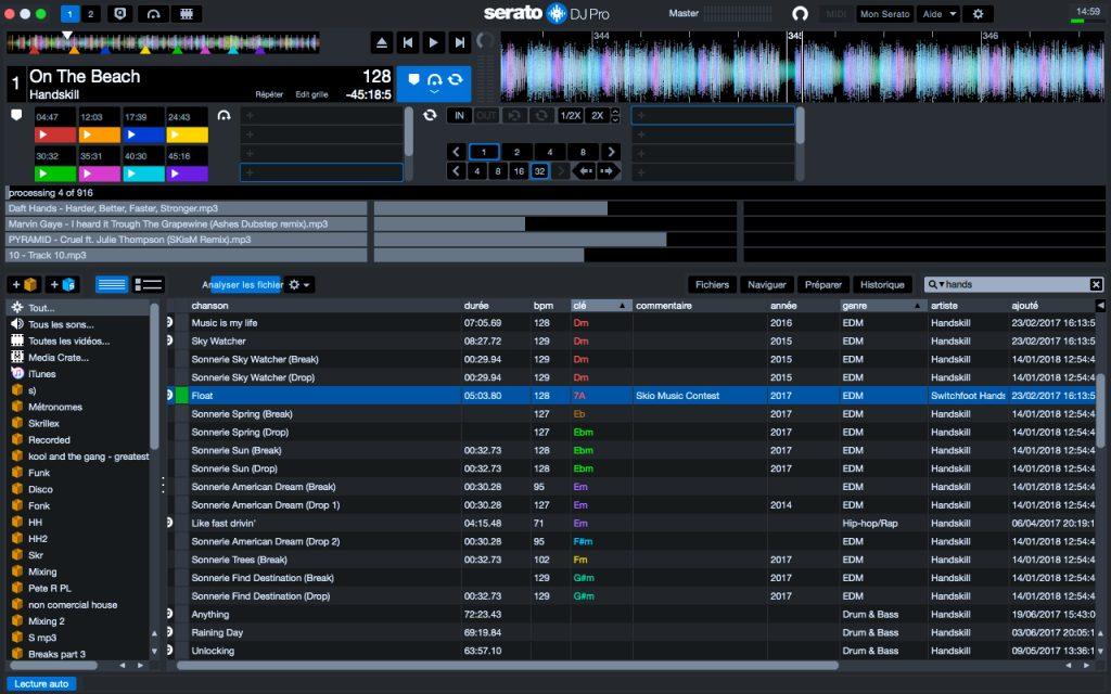 apprendre à mixer avec serato dj