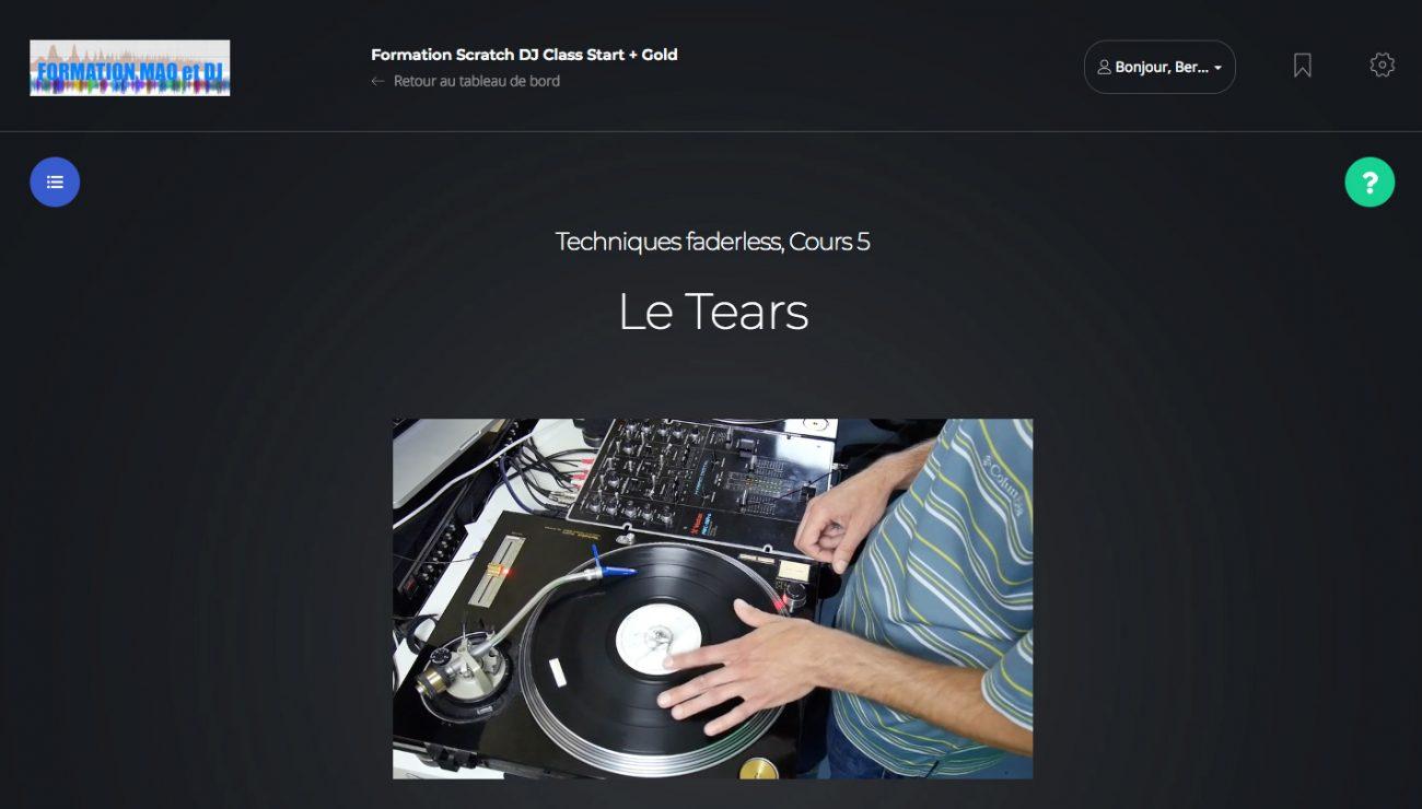 Tears scratch