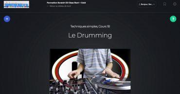drumming scratch