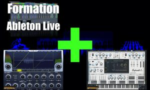 formation ableton live + la compression sidechain + sylenth