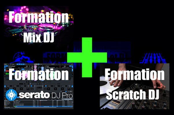 formation mix dj + serato dj pro + scratch