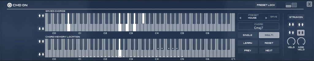 Instant Chord Progressions with CMD